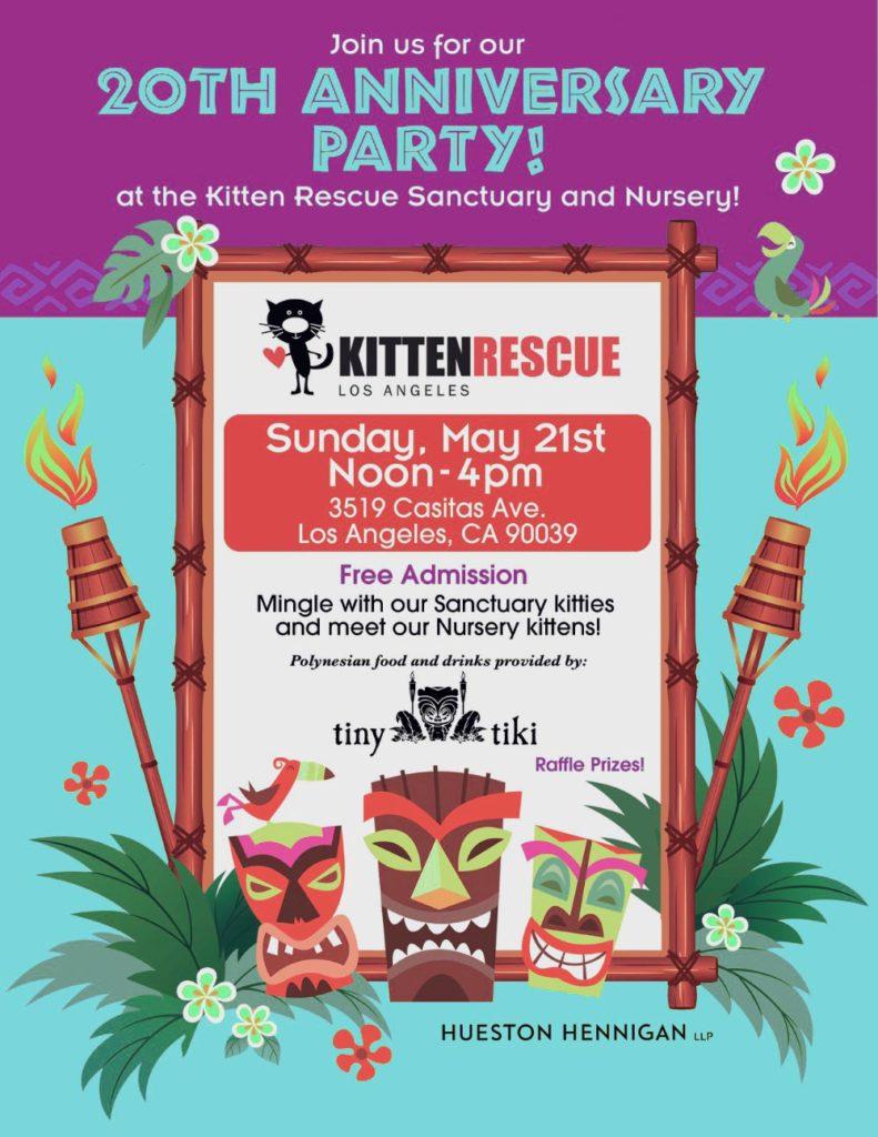 Kitten Rescue's Open House Flyer