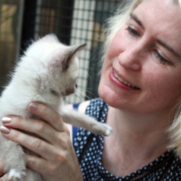 Eden Salisbury, Kitten Rescue's Volunteer of the Year