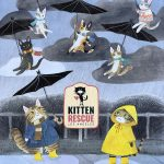 It's Raining Kittens at our Virtual Kitten Shower